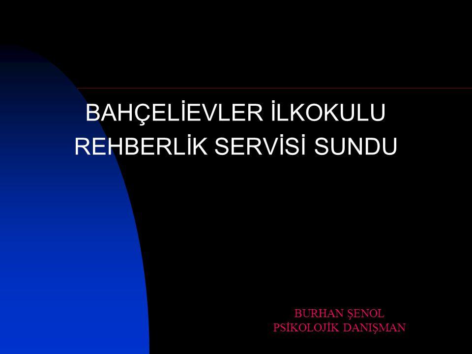 BAHÇELİEVLER İLKOKULU REHBERLİK SERVİSİ SUNDU
