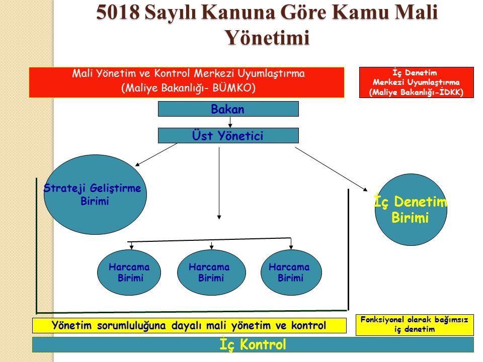 5018 Sayılı Kanuna Göre Kamu Mali Yönetimi