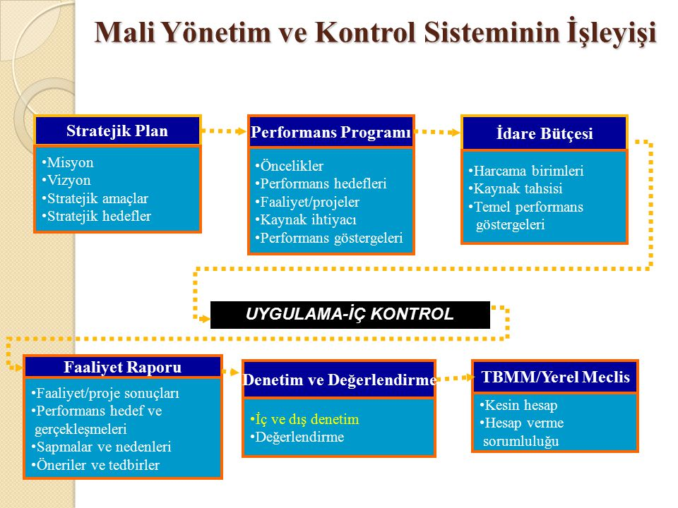Mali Yönetim ve Kontrol Sisteminin İşleyişi
