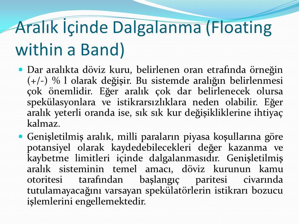 Aralık İçinde Dalgalanma (Floating within a Band)