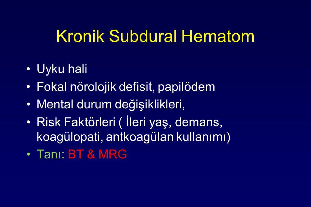 Kronik Subdural Hematom