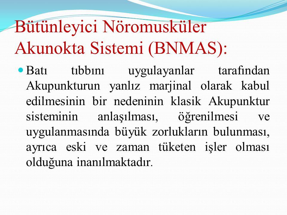 Bütünleyici Nöromusküler Akunokta Sistemi (BNMAS):
