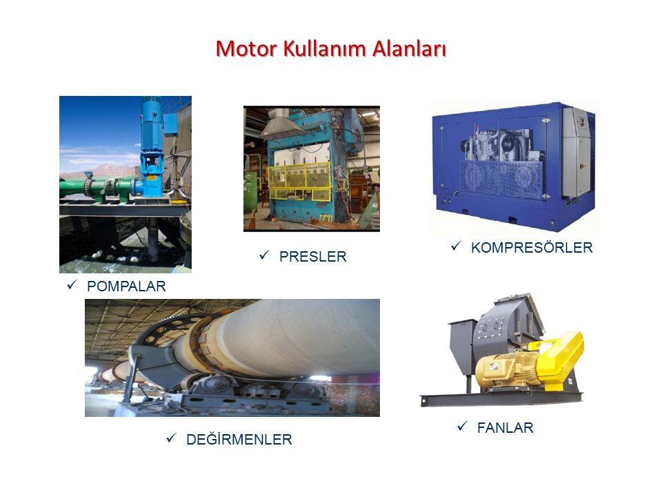Motor Kullanım Alanları