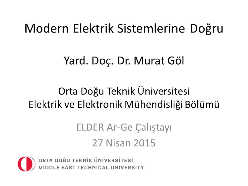 ELDER Ar-Ge Çalıştayı 27 Nisan 2015