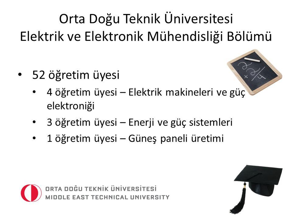 Orta Doğu Teknik Üniversitesi Elektrik ve Elektronik Mühendisliği Bölümü