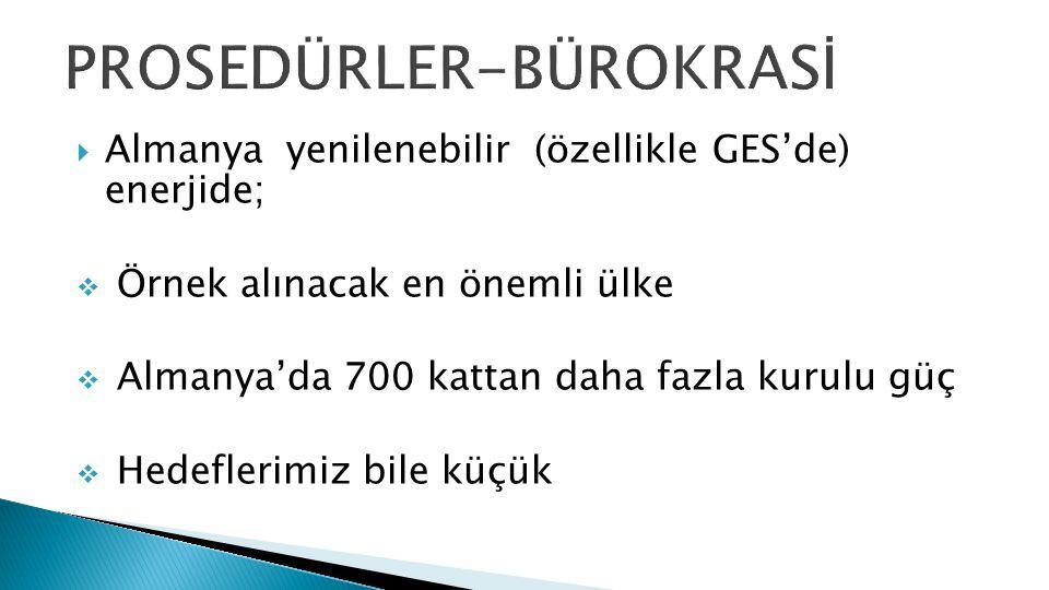 PROSEDÜRLER-BÜROKRASİ