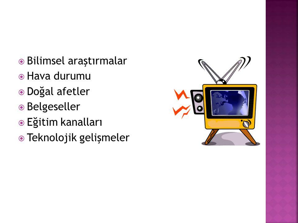 Bilimsel araştırmalar