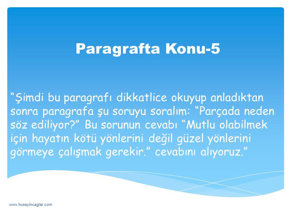 Paragrafta Konu-5