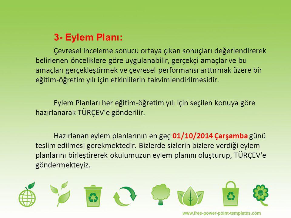 3- Eylem Planı: