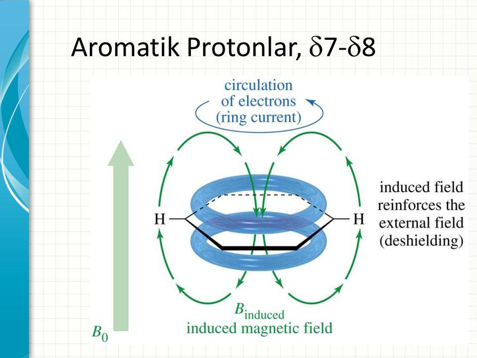Aromatik Protonlar, 7-8