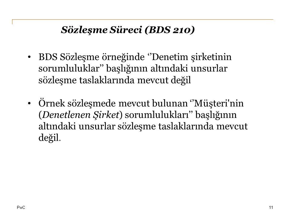 Sözleşme Süreci (BDS 210)