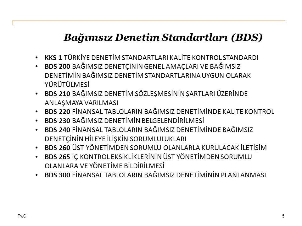 Bağımsız Denetim Standartları (BDS)