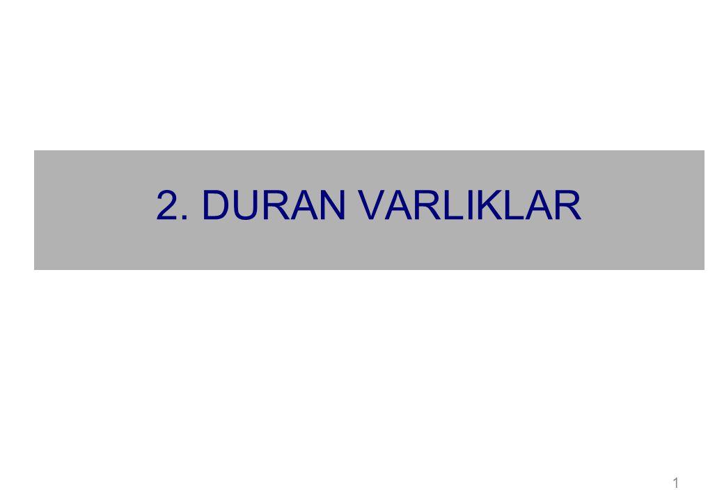 2. DURAN VARLIKLAR 1