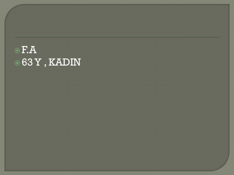 F.A 63 Y , KADIN