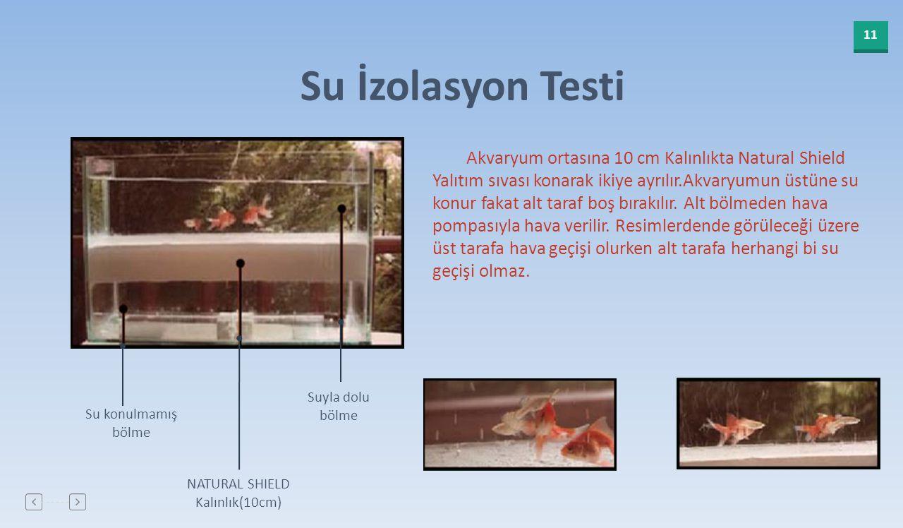 Su İzolasyon Testi