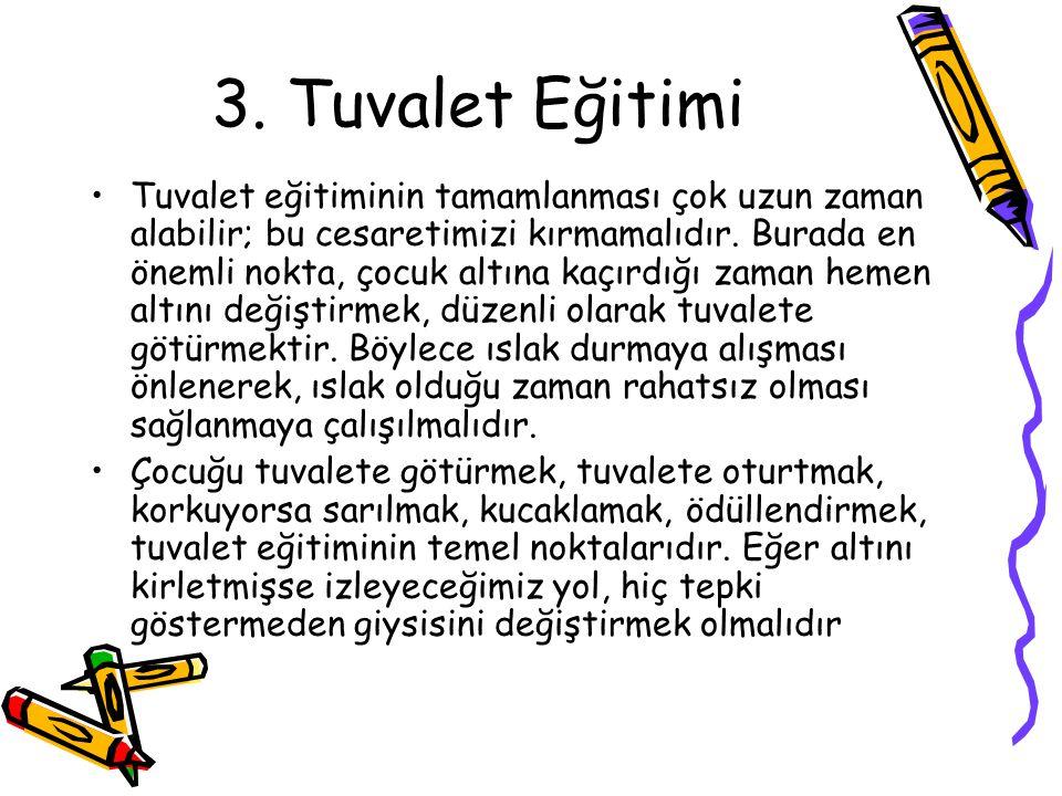 3. Tuvalet Eğitimi