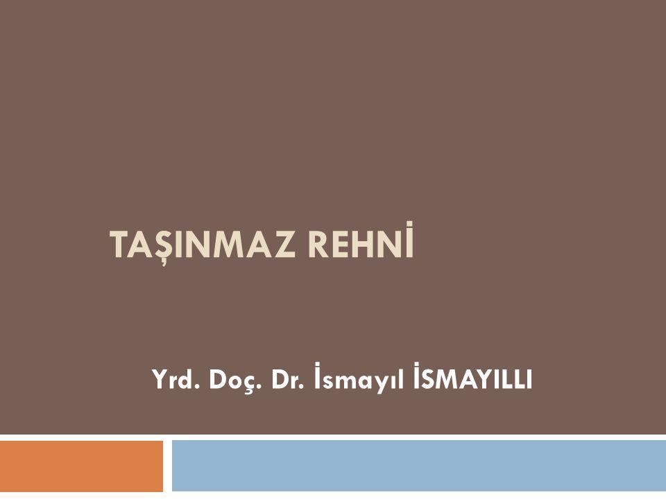 Yrd. Doç. Dr. İsmayıl İSMAYILLI