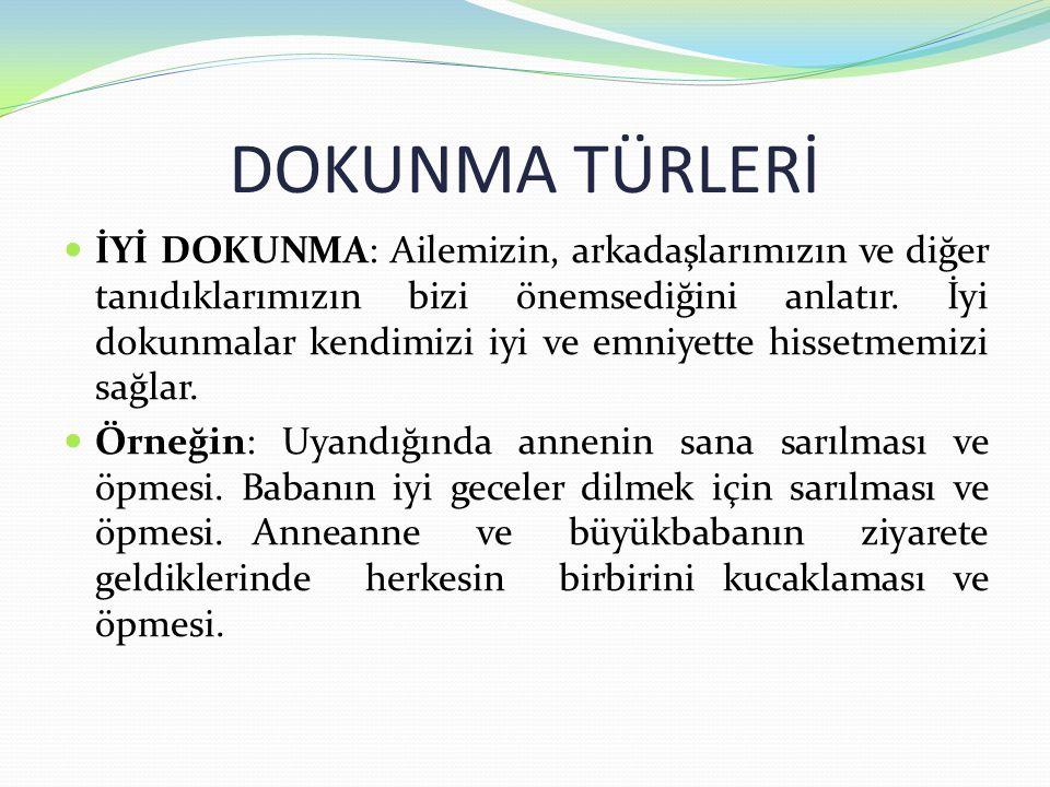 DOKUNMA TÜRLERİ