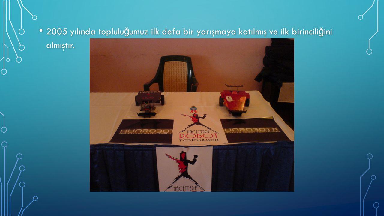 2005 yılında topluluğumuz ilk defa bir yarışmaya katılmış ve ilk birinciliğini almıştır.