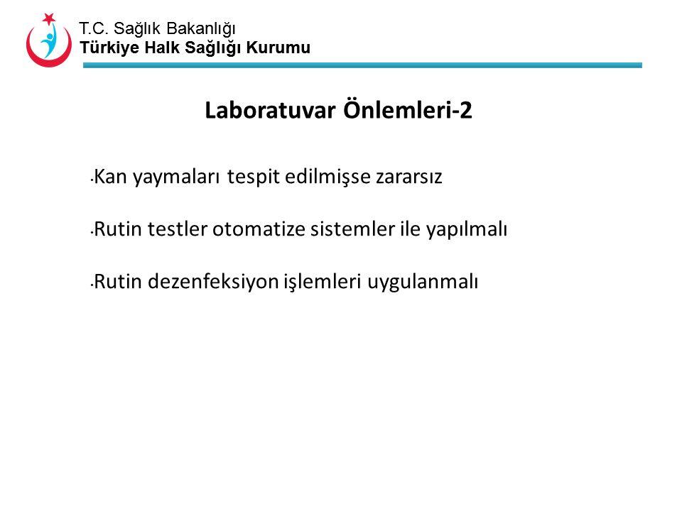Laboratuvar Önlemleri-2