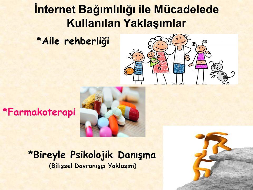 İnternet Bağımlılığı ile Mücadelede Kullanılan Yaklaşımlar