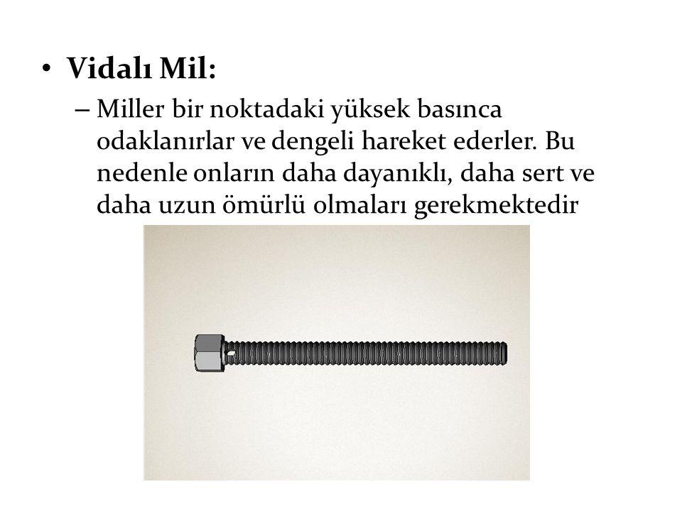 Vidalı Mil: