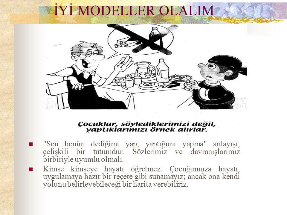 İYİ MODELLER OLALIM