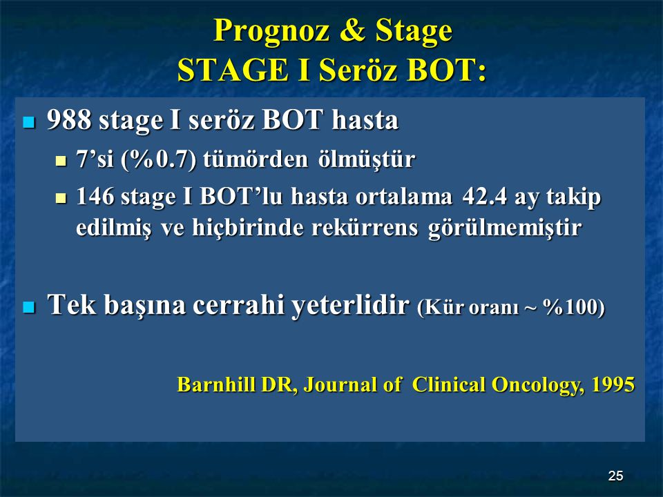 Prognoz & Stage STAGE I Seröz BOT: