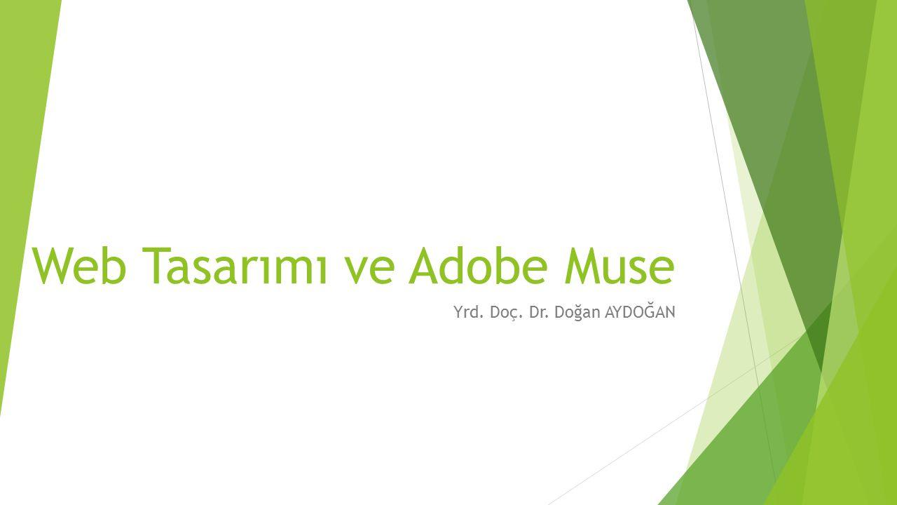 Web Tasarımı ve Adobe Muse