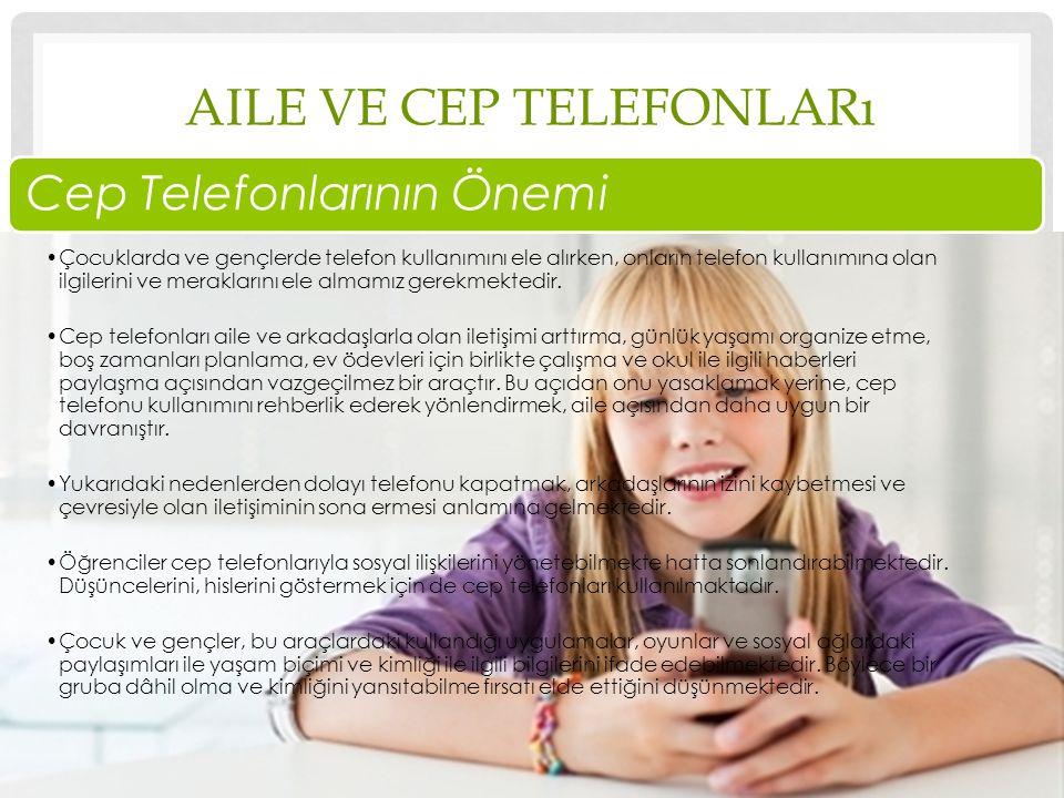 Aile ve cep telefonları
