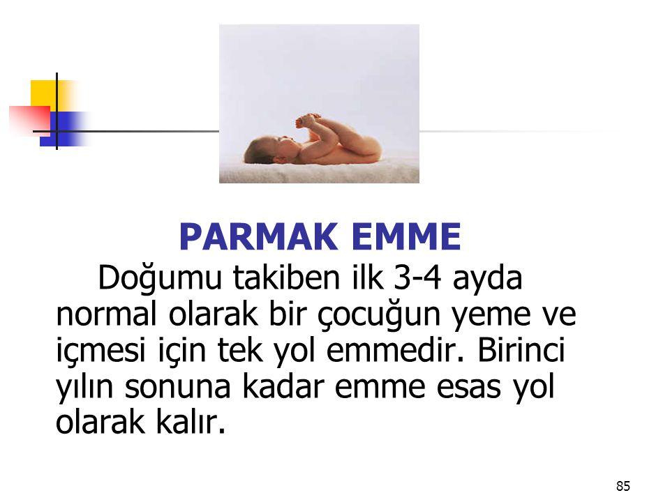 PARMAK EMME