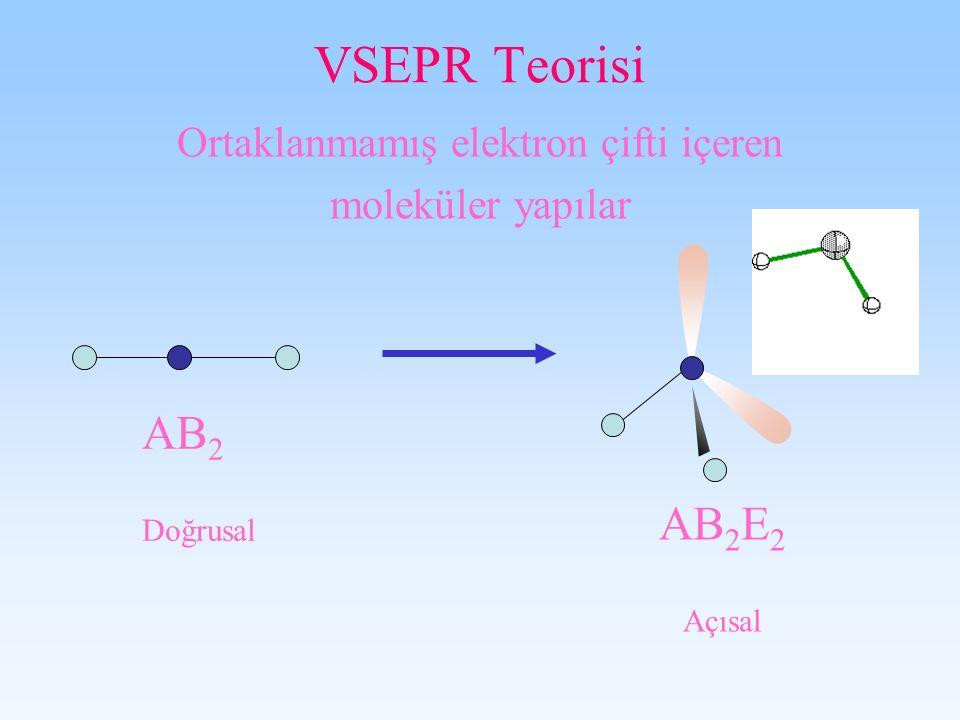 Ortaklanmamış elektron çifti içeren
