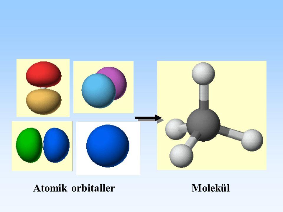 Atomik orbitaller Molekül