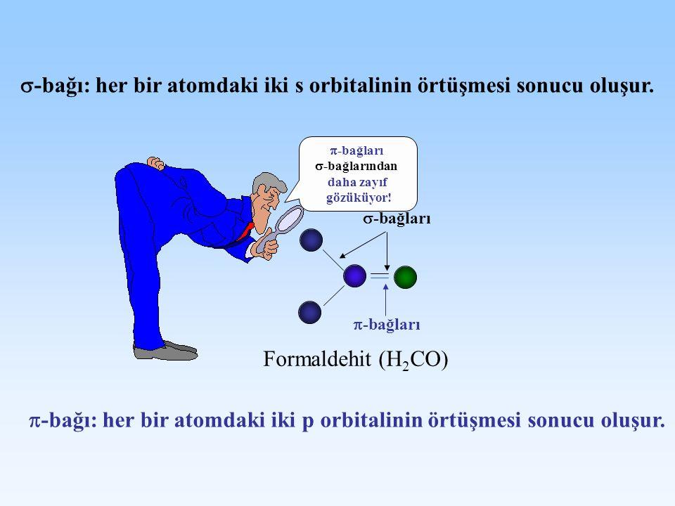 -bağı: her bir atomdaki iki s orbitalinin örtüşmesi sonucu oluşur.