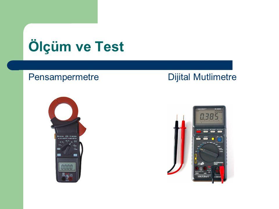 Ölçüm ve Test Pensampermetre Dijital Mutlimetre