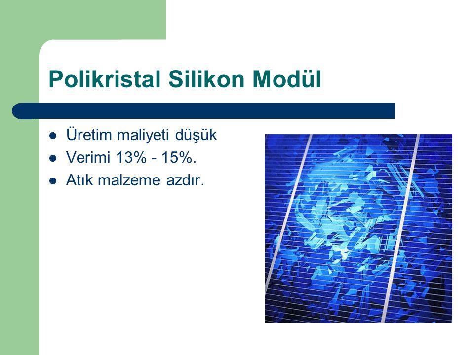 Polikristal Silikon Modül
