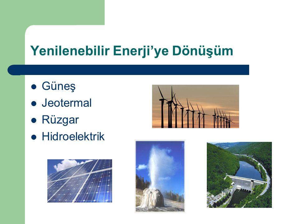 Yenilenebilir Enerji'ye Dönüşüm