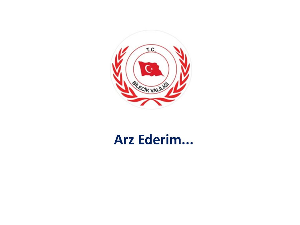 Arz Ederim...