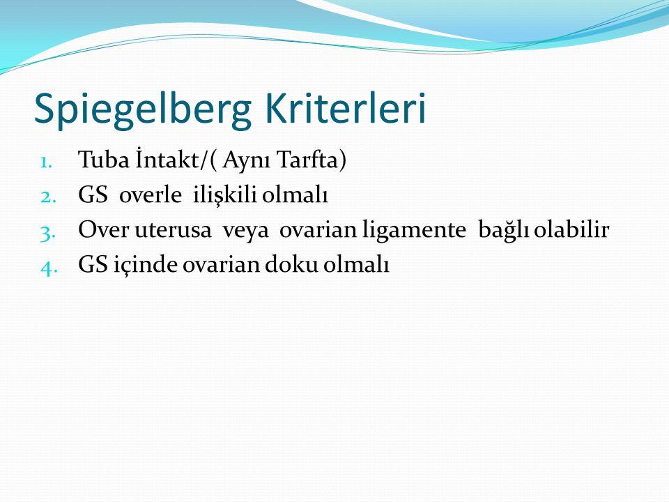 Spiegelberg Kriterleri