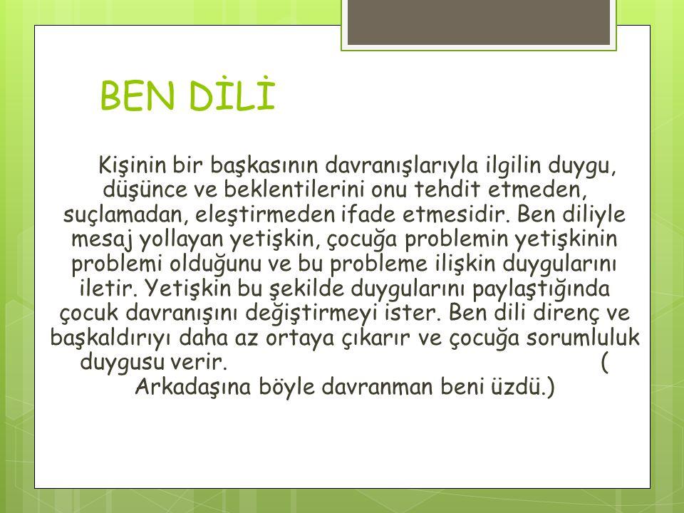 BEN DİLİ