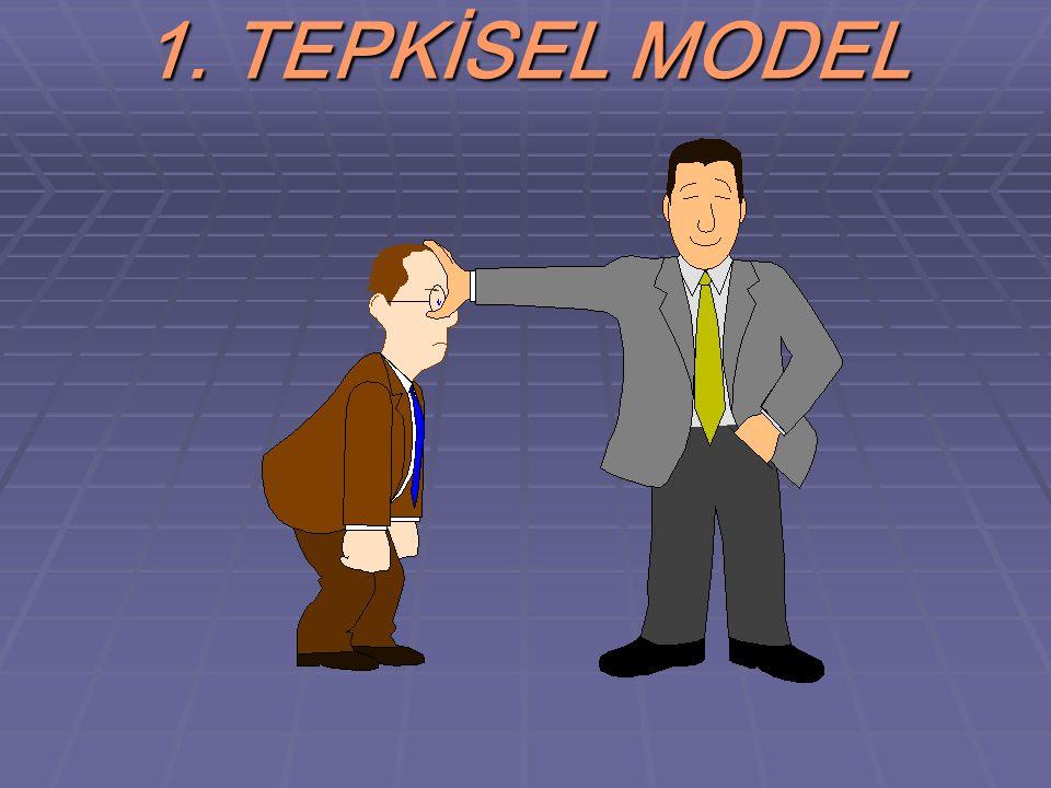 1. TEPKİSEL MODEL