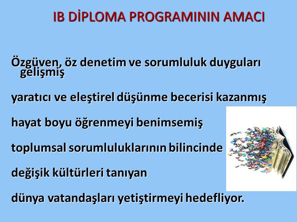 IB DİPLOMA PROGRAMININ AMACI