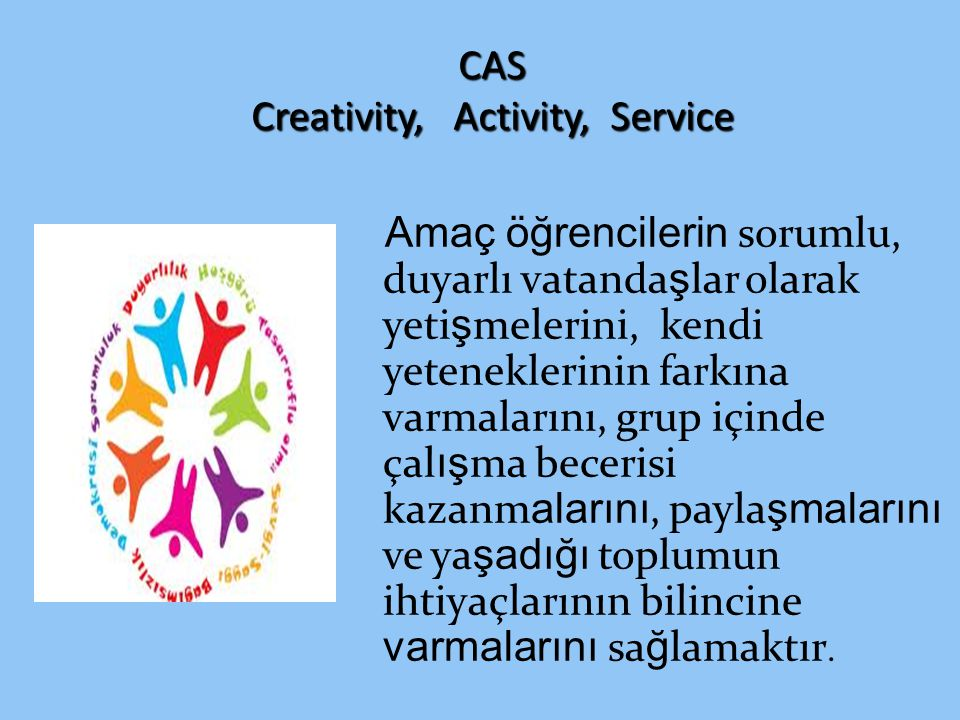CAS Creativity, Activity, Service