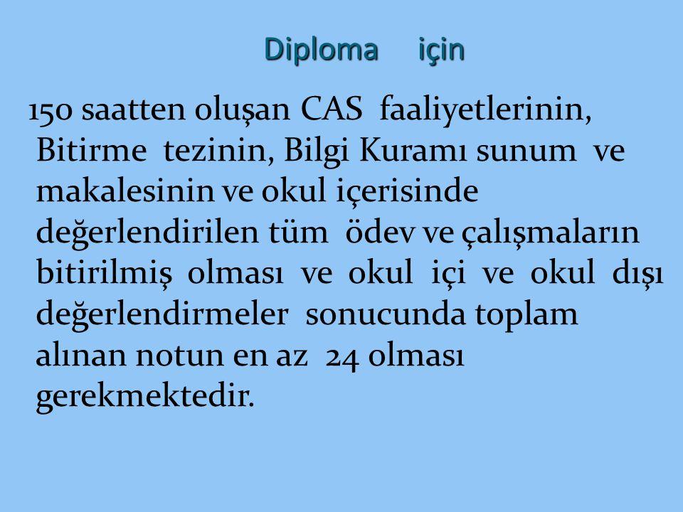 Diploma için