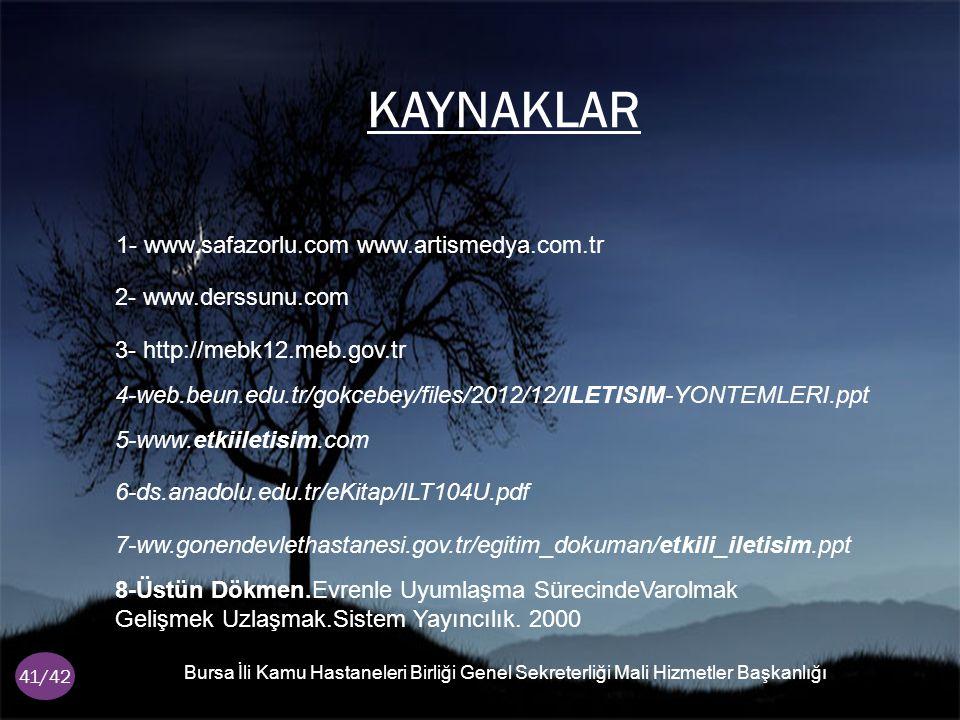 1- www.safazorlu.com www.artismedya.com.tr