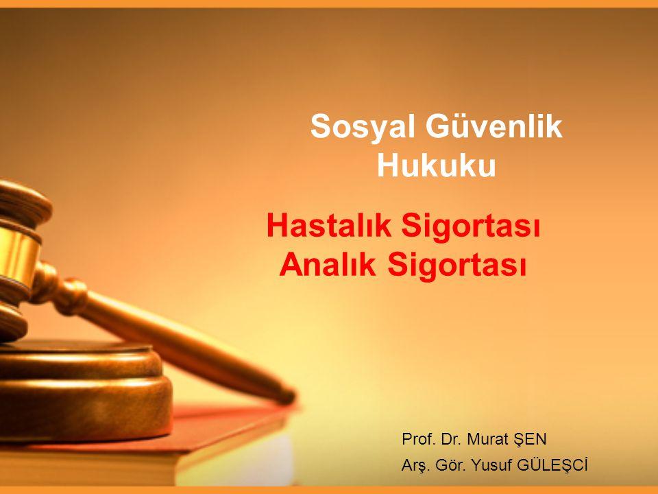 Sosyal Güvenlik Hukuku