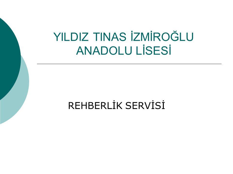 YILDIZ TINAS İZMİROĞLU ANADOLU LİSESİ