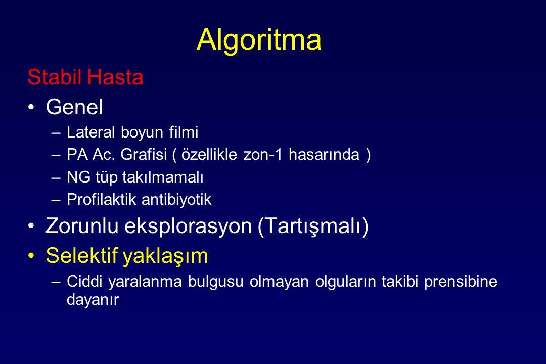 Algoritma Stabil Hasta Genel Zorunlu eksplorasyon (Tartışmalı)