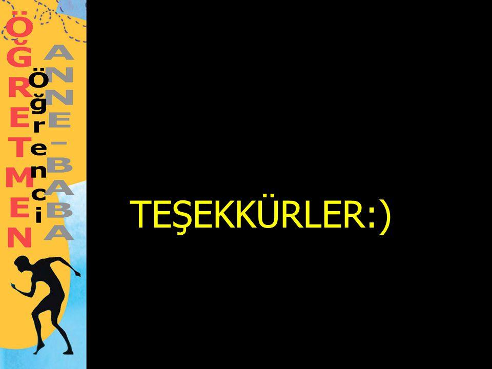 TEŞEKKÜRLER:)