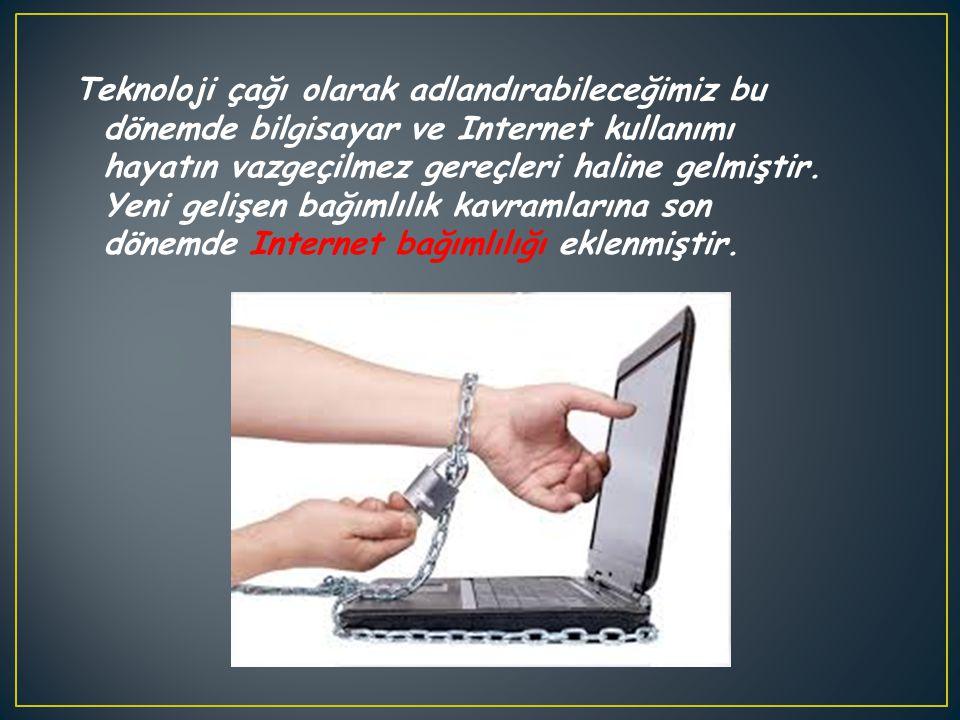 Teknoloji çağı olarak adlandırabileceğimiz bu dönemde bilgisayar ve Internet kullanımı hayatın vazgeçilmez gereçleri haline gelmiştir.
